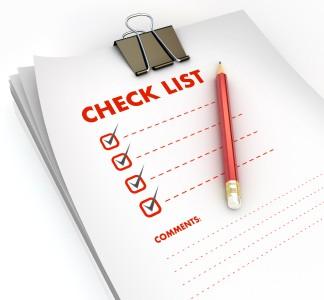 YE checklist