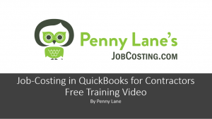 Free QuickBooks For Contractors Recorded Webinar