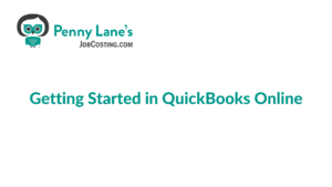 Getting Started: Setting Up Projects in QuickBooks Online